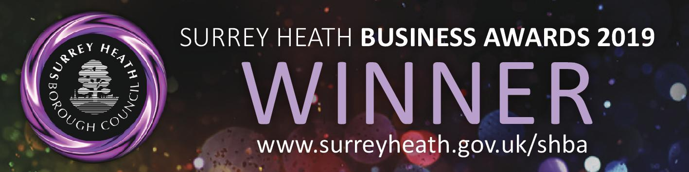 Surrey Security, Surrey Heath Business Awards 2019 Winner